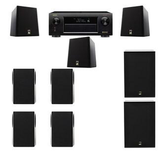 M&K Sound S150II Loudspeaker 7.2 X12 Denon AVR-X5200W