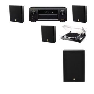 M&K Sound MP150II Wall Loudspeaker 3.1 Thorens TD-240-2 X12 Denon AVR-X5200W