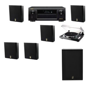 M&K Sound MP150II Wall Speaker 5.1 Thorens TD-240-2 X12 Denon AVR-X5200W