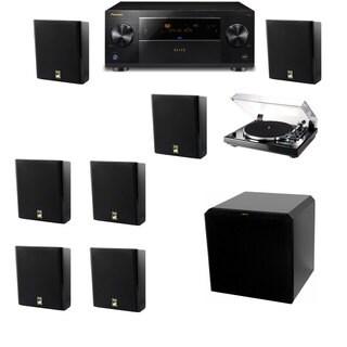 M&K Sound MP150II Wall Speaker 7.1 Thorens TD-240-2 HRS12 Pioneer Elite SC-89