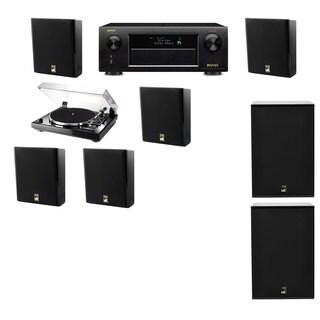 M&K Sound MP150II Wall Speaker 5.2 Thorens TD-240-2 X12 Denon AVR-X5200W