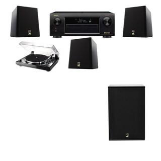 M&K Sound S150II Loudspeaker 3.1 Thorens TD-240-2 X12 Denon AVR-X5200W