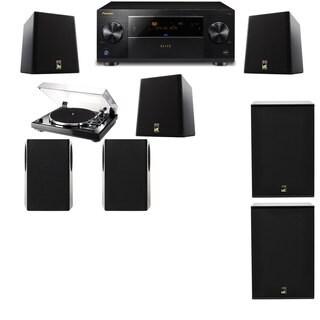 M&K Sound S150II Loudspeaker 5.2 Thorens TD-240-2 X12 Pioneer Elite SC-89
