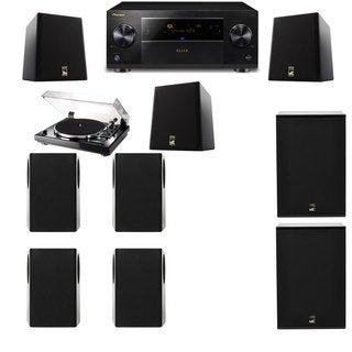 M&K Sound S150II Loudspeaker 7.2 Thorens TD-240-2 X12 Pioneer Elite SC-89