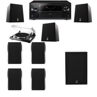 M&K Sound S150II Loudspeaker 7.1 Thorens TD-240-2 X12 Pioneer Elite SC-89