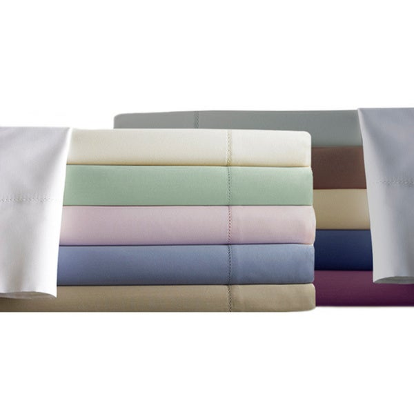 600 Thread Count Cotton Rich 4-Piece Sheet Set