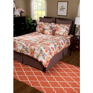 Rizzy Home Brown Bed Skirt