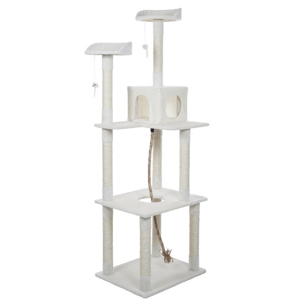 PAW Sleep and Play Cat Toy Tree