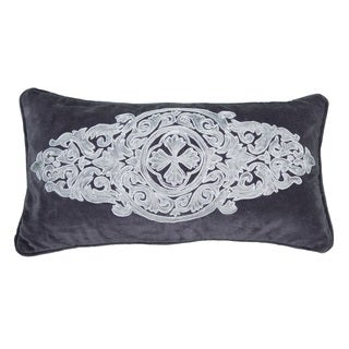 """Rizzy Home 11"""" x 21"""" Medallion Accent Pillow"""