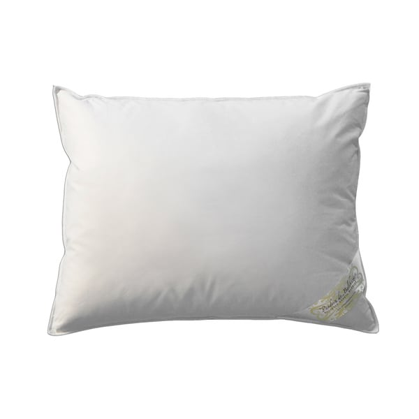Hungarian White Goose Down and Feather Egyptian Cotton Pillow