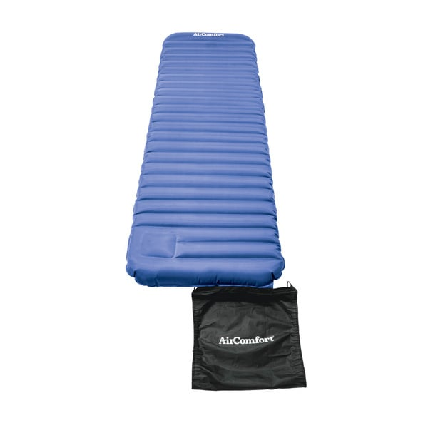 Air Comfort Roll & Go Large Blue Inflatable Sleeping Pad