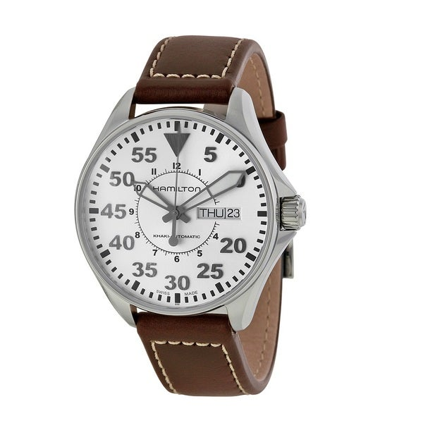 Hamilton Men's H64425555 Khaki Pilot 38MM White Watch