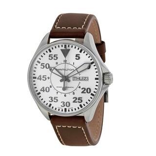 Hamilton Men's H64425555 Khaki Pilot 38MM White Watch