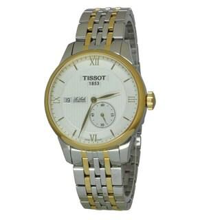 Tissot Men's T0064282203800 Le Locle White Watch