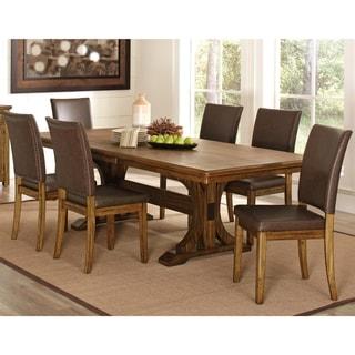 Monterey Modern Rustic / Nailhead Trim Dining Set
