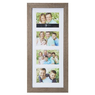 Melannco 4 Opening Picture Frame