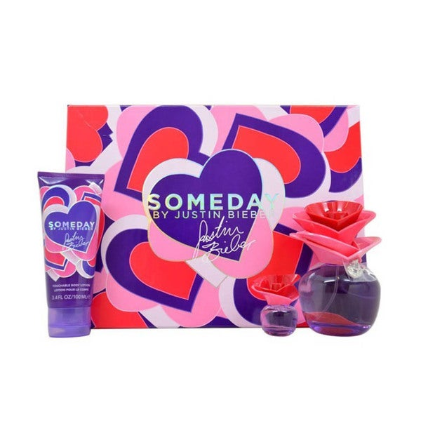 Justin Bieber Someday 3-piece Gift Set
