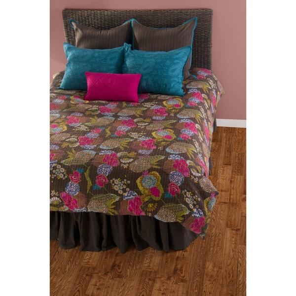 Rizzy Home Brown/Multicolor 8-piece Comforter Set 16068816