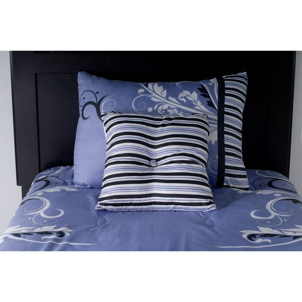Rizzy Home Periwinkle Comforter Set 17560136 Overstock