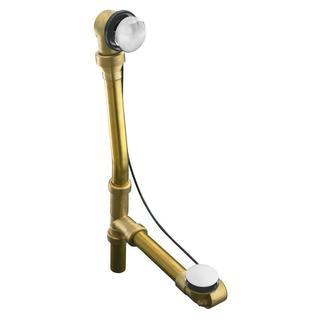 Kohler Escale Brass Bath Drain in Polished Chrome