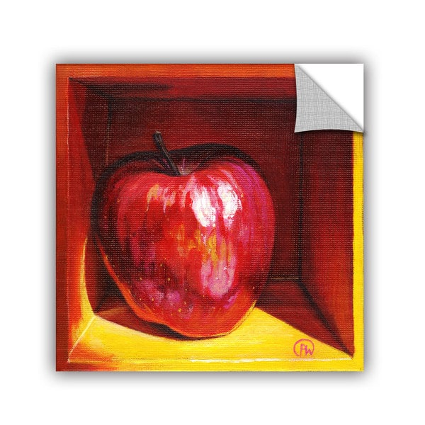 ArtAppealz Paige Wallis 'Red Delicious' Removable Wall Art