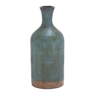 Rustic Distressed Terracotta Flower Vase