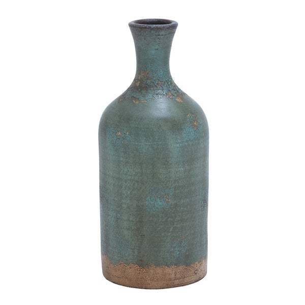 Rustic Distressed Terracotta Flower Vase