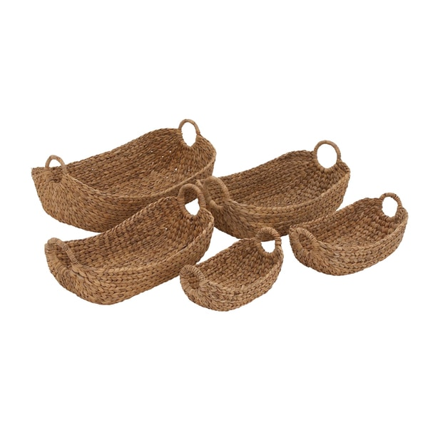 Seagrass Basket Oval (Set of 5)