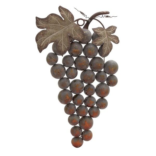 Metal Grape Wall Ornaments