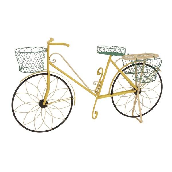 Multi Color Garden Bicycle Planter
