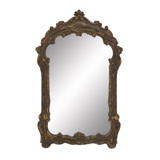 Old World Wall Mirror Queen Anne Style