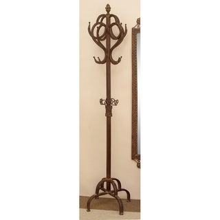 Classic Metal Coat Rack Antique Bronze