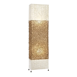 Capiz-Shell Luminaire Floor Lamp