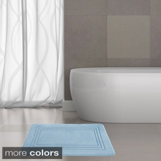Echo Embossed Memory Foam Bath Mat (21 x 34)