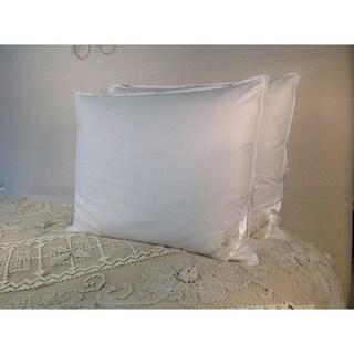 Pandora De Balthazar Hungarian Goose Down and Feather Egyptian Cotton King Size Pillow 240 Thread Count
