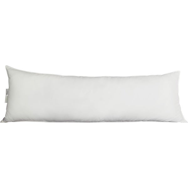 Luxury Primaloft Down Alternative Silky Sateen 400 Thread Count Body Pillow