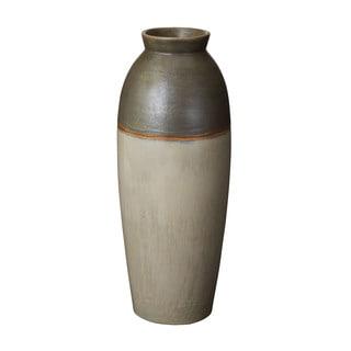 Dimond Home Olive Fire Line Vase (Large)