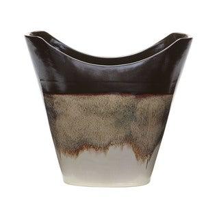 Dimond Home Reaction Vase In Cascade Mocha (Large)