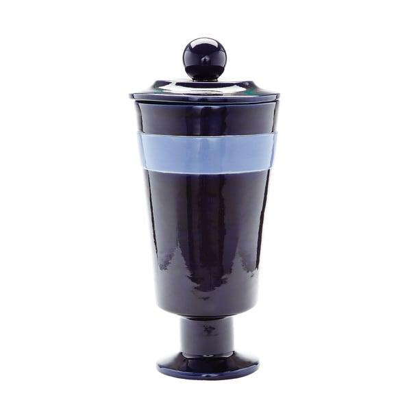 Dimond Home Navy And Denim Polar Vase (Large)