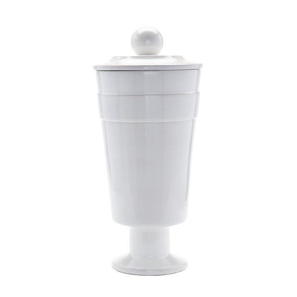 Dimond Home White Polar Vase (Large)