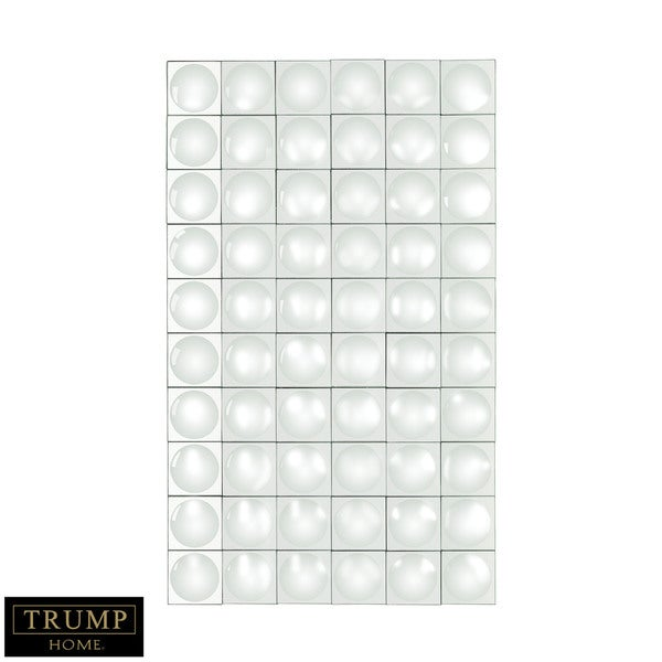 Dimond Home Modern Geometric Grid Mirror
