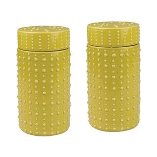 Dimond Home Convex Ceramic Vessels (Set of 2)