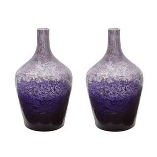 Dimond Home Plum Ombre Bottle (Set of 2)