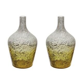 Dimond Home Lemon Ombre Bottle (Set of 2)