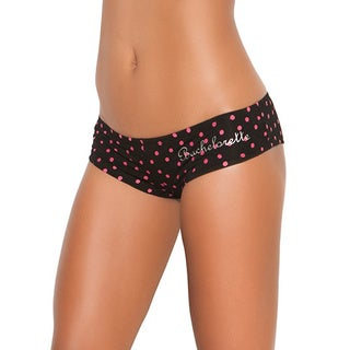 Elegant Moments Women's 'Bachelorette' Printed Front Booty Shorts