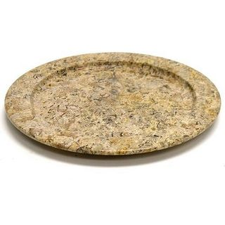 Fossil Stone 12-inch Serving Plate