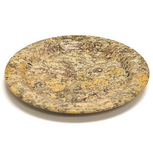 Fossil Stone 10-inch Serving Plate