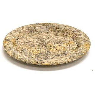 Fossil Stone 6-inch Serving Plate