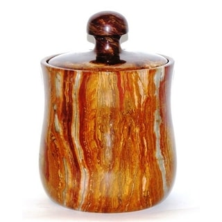 Multi Onyx Modern 8-inch Kitchen Canister