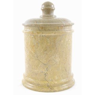 Sahara Beige Marble 9-inch Classic Kitchen Canister